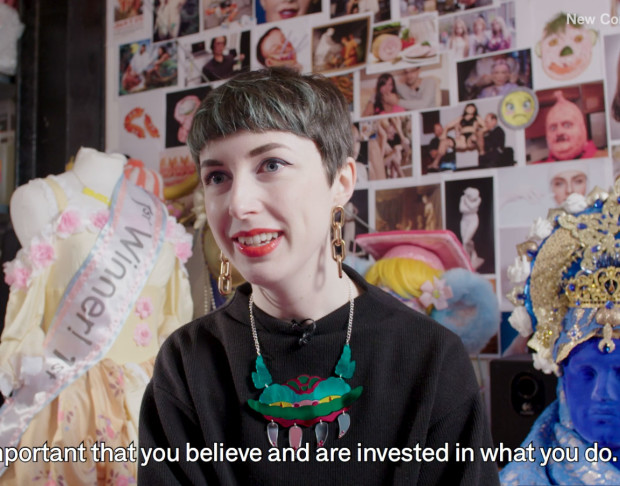 Vimeo image of New Contemporaries 70 Years Young, Rachel Maclean